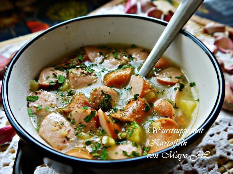 香腸馬鈴薯湯