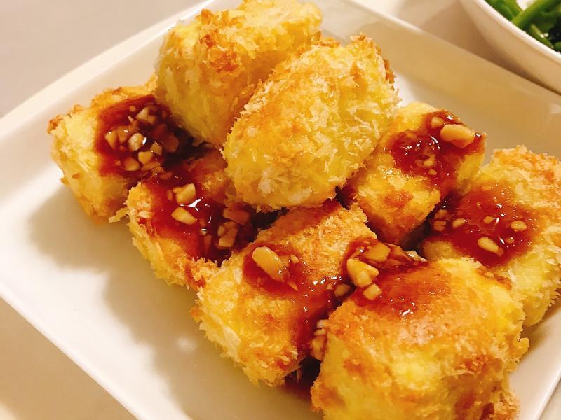 氣炸雞蛋豆腐 #健康無油 #寶寶食品