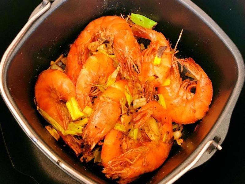 氣炸鍋鹹酥蝦