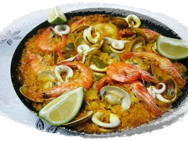 西班牙海鮮雞肉飯