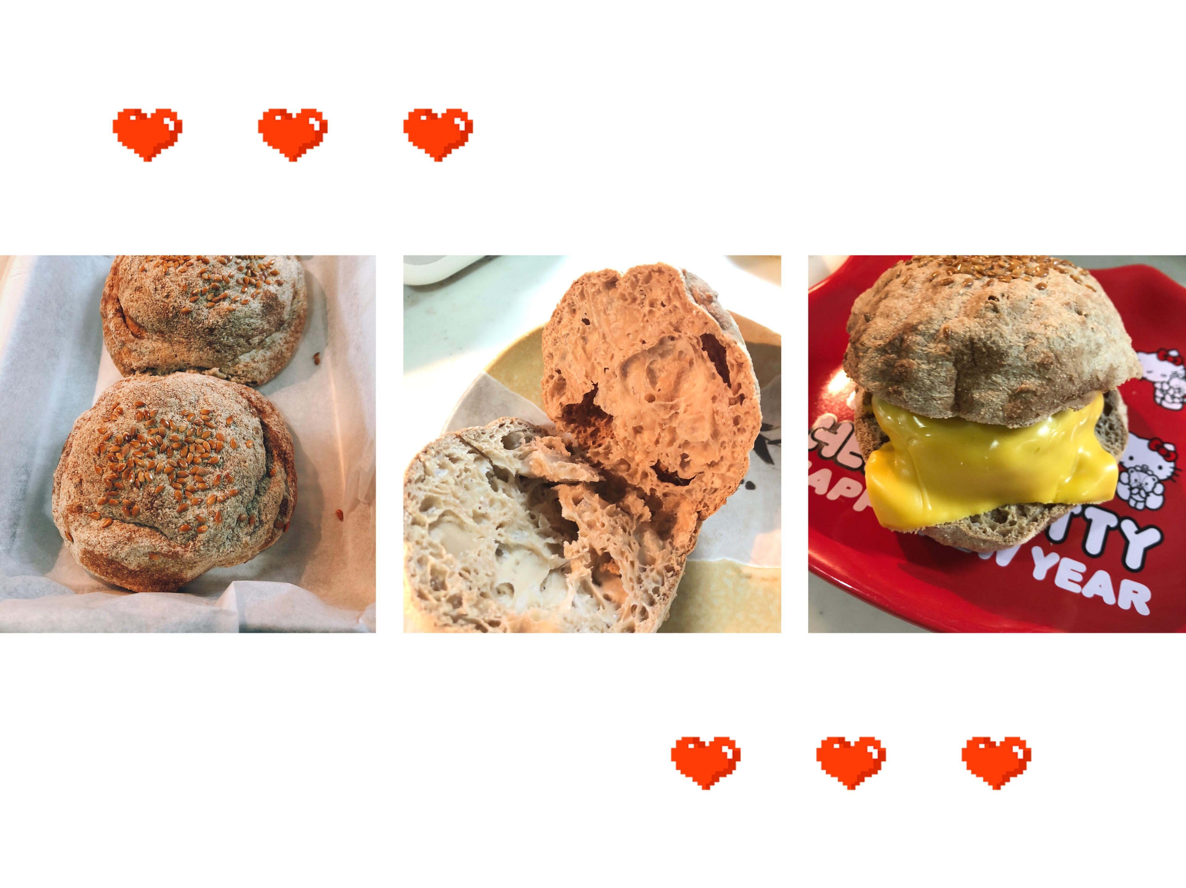 生酮版漢堡麵包