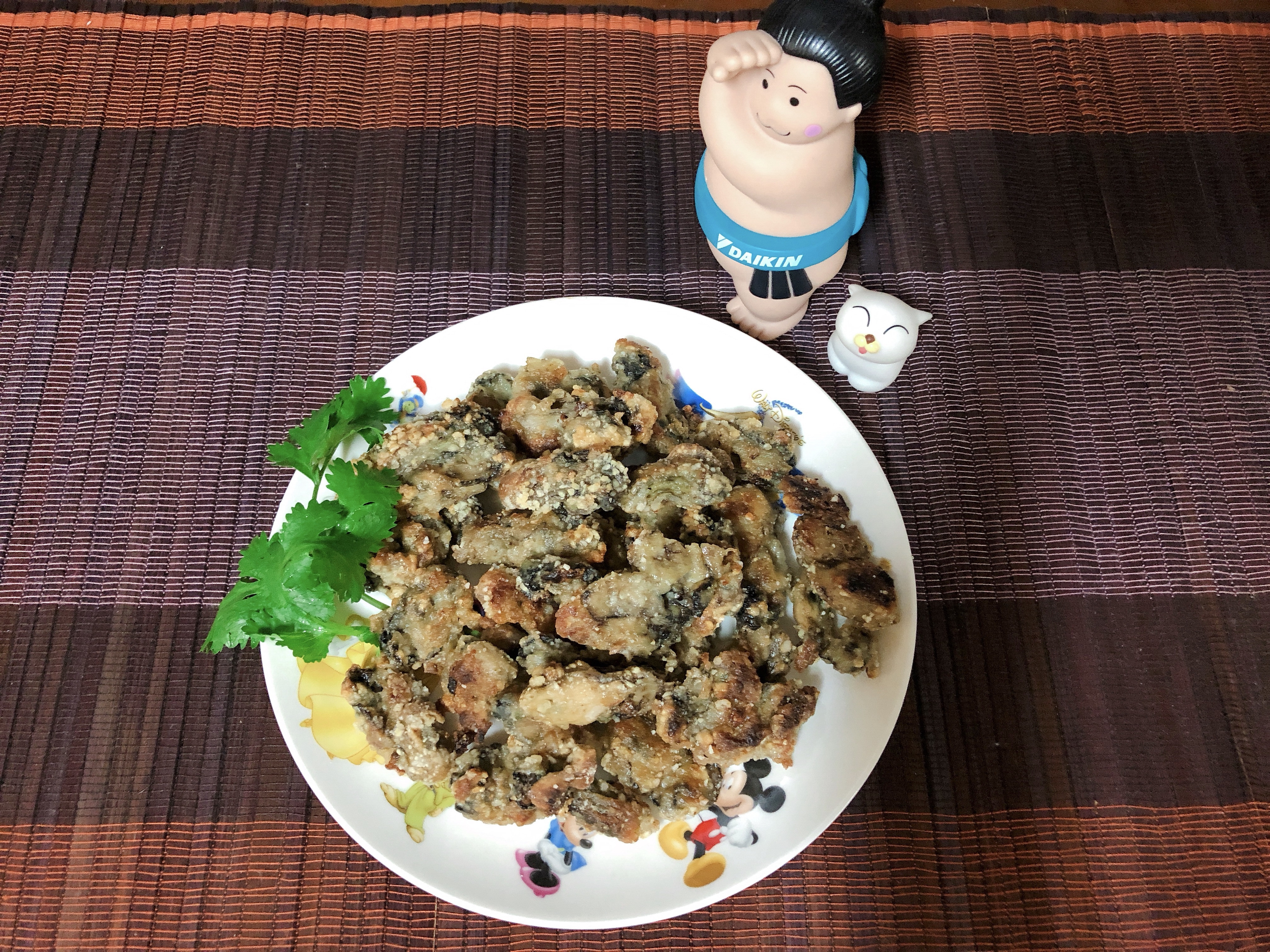 煎蚵仔-水波爐料理