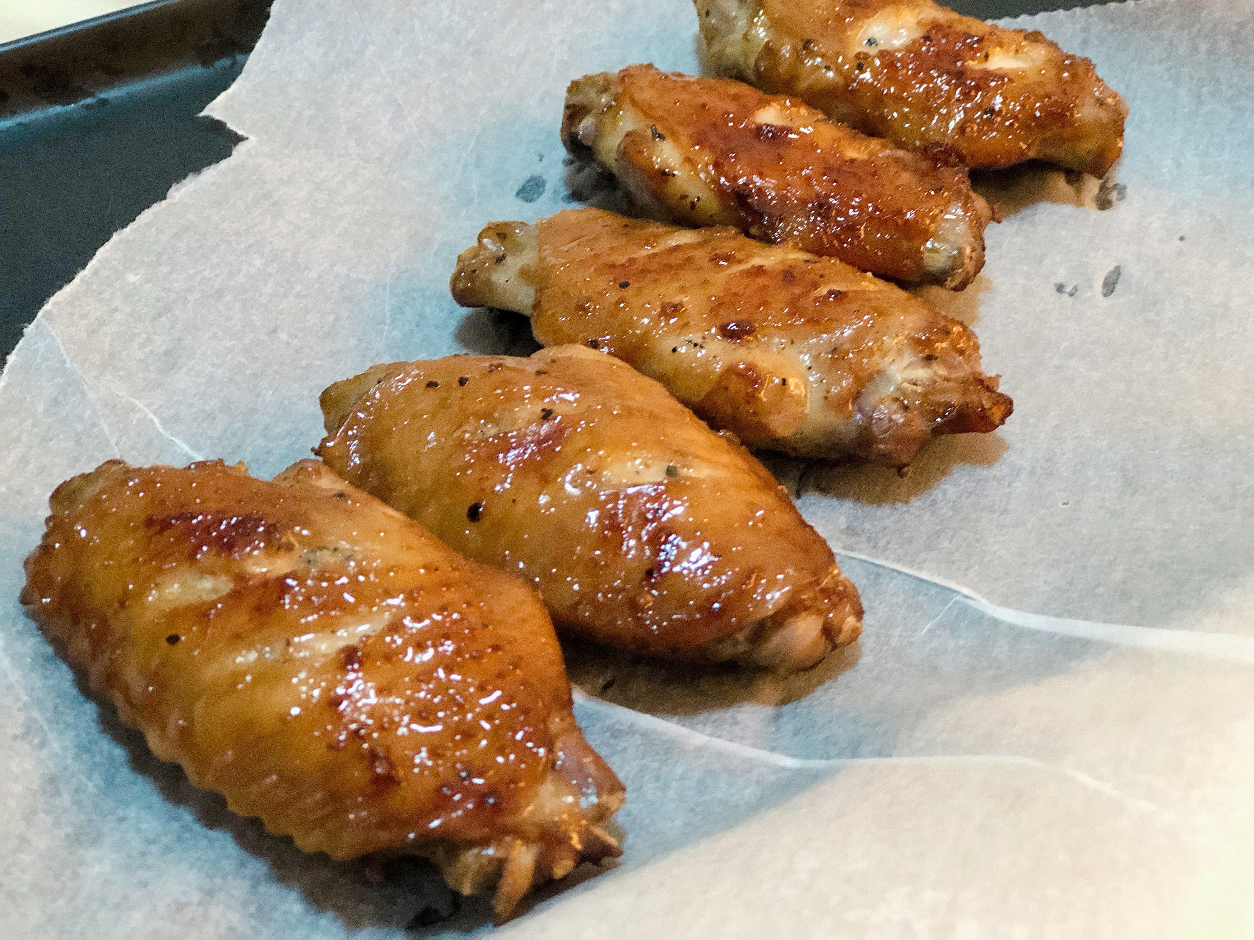 黑胡椒檸檬烤雞翅(新手料理簡單學)