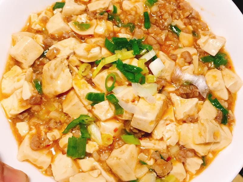 香噴噴麻婆豆腐(不辣版)