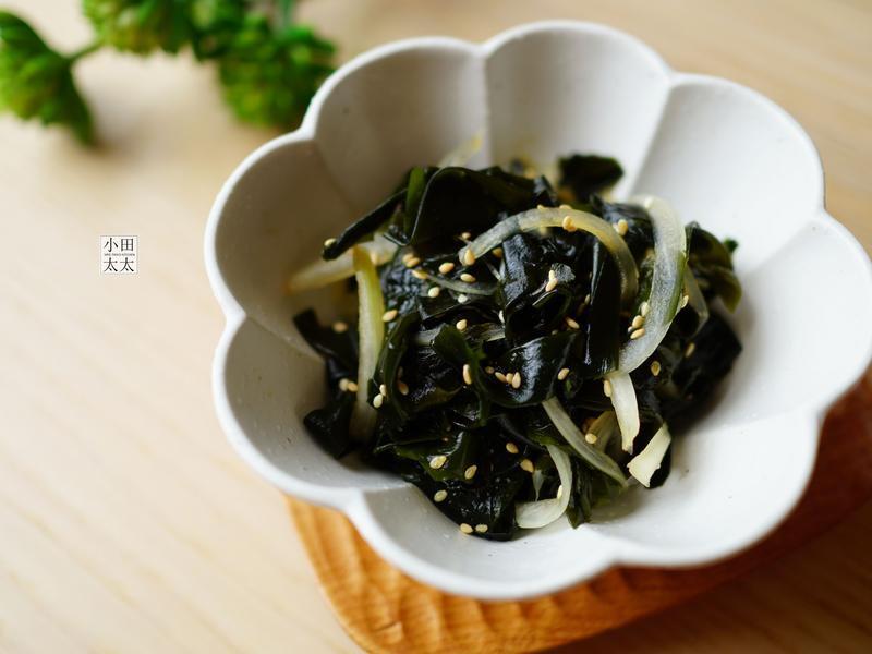 清爽開胃的韓國小菜~涼拌海帶芽(影片)