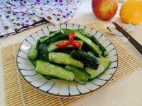 涼拌味噌小黃瓜