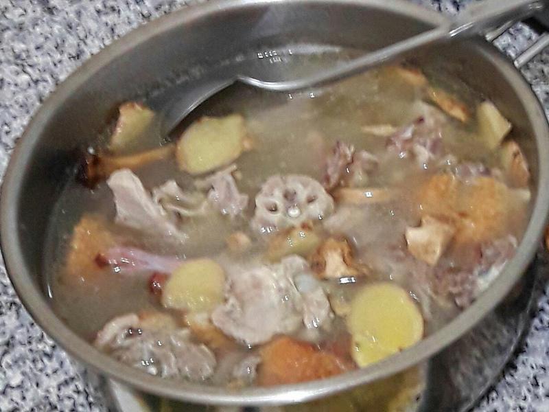 薑絲鴨片湯