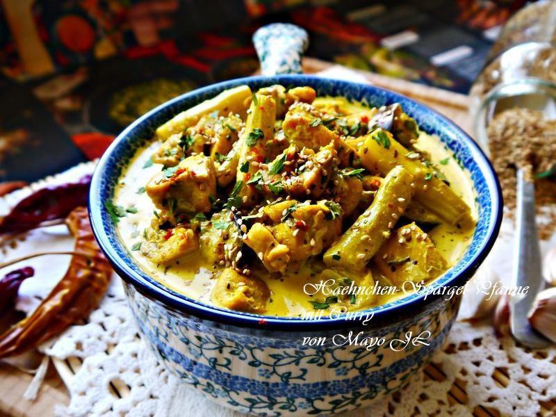 蘆筍雞肉酸奶咖哩鍋
