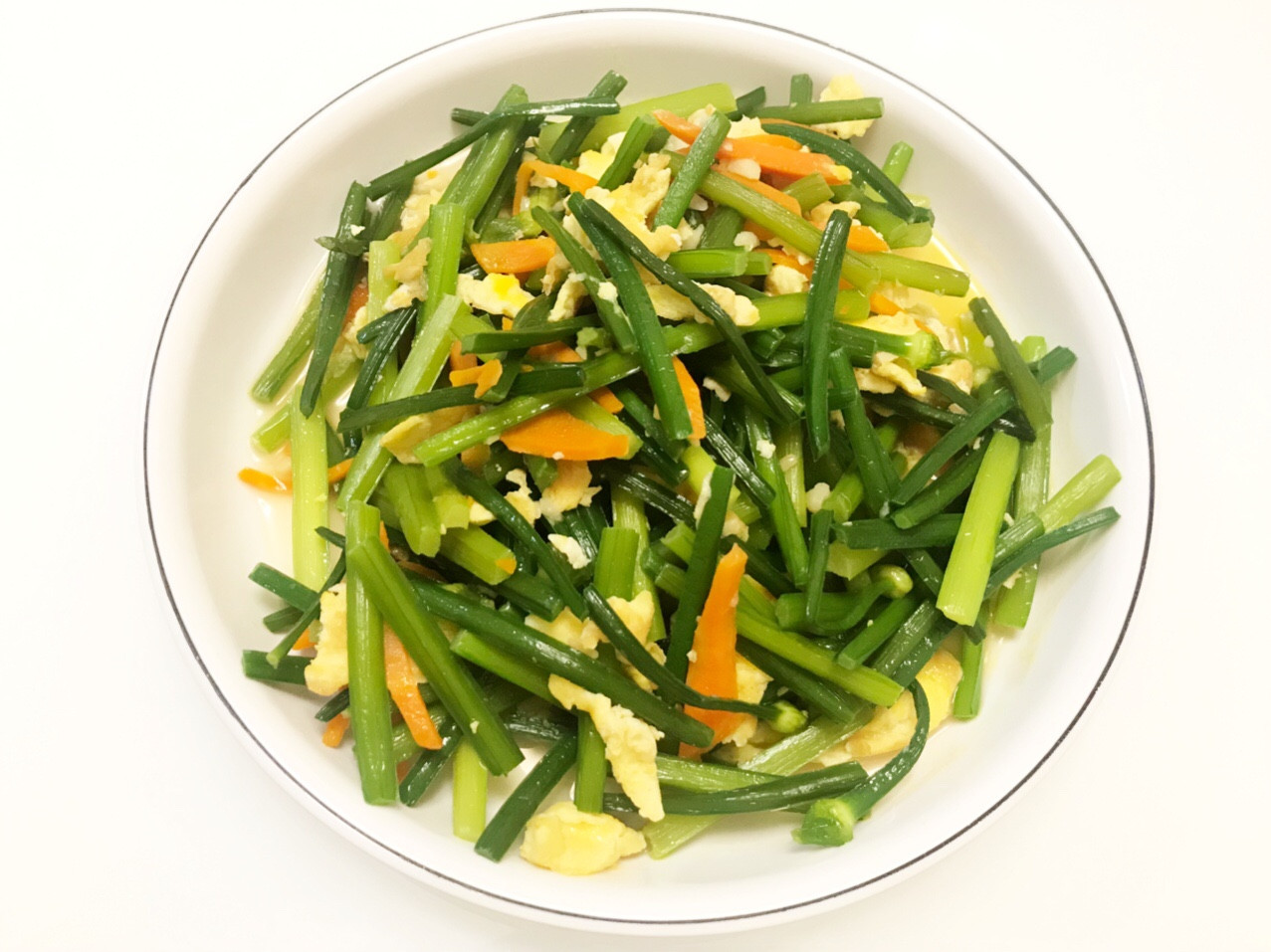 👩🏻🍳韭菜花炒蛋