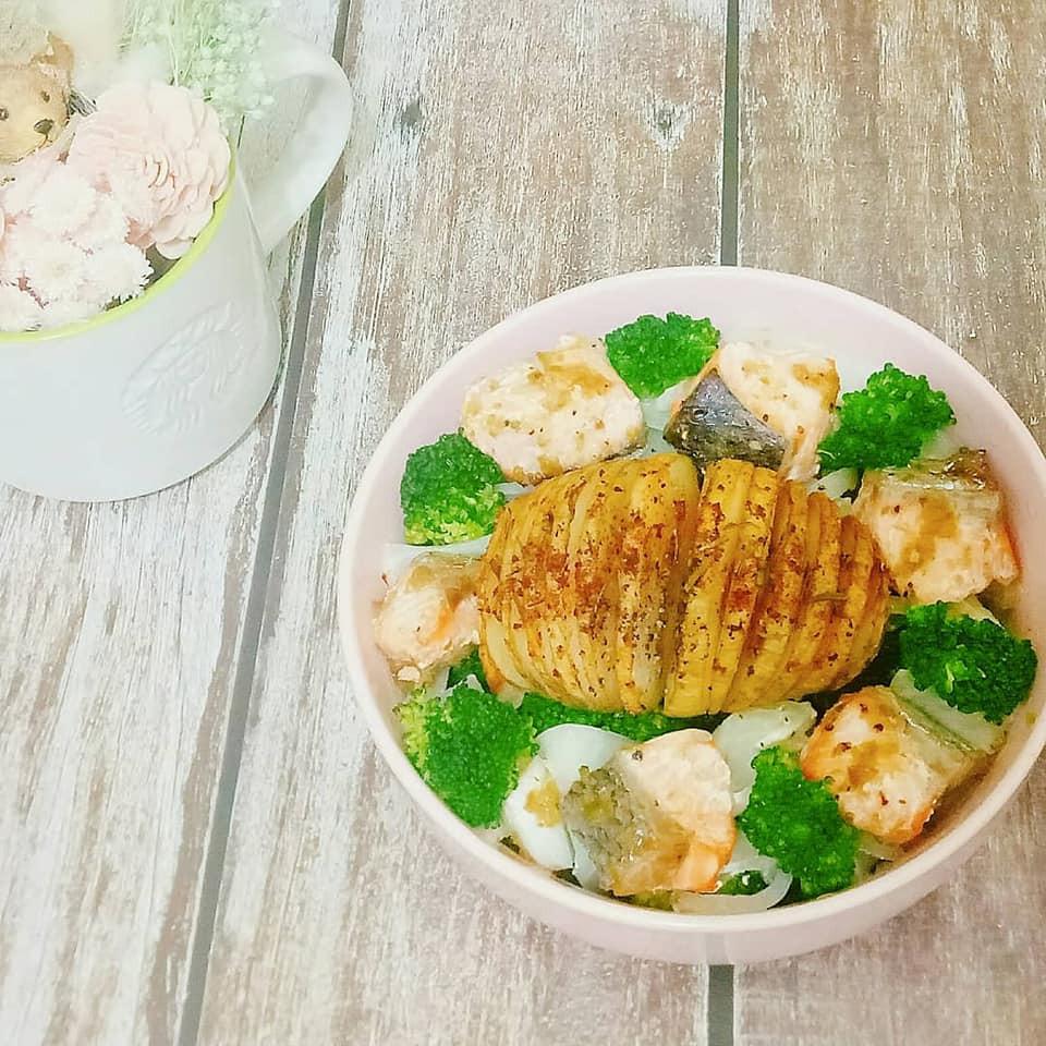 簡易懶人低卡烤箱料理-柚子胡椒風味魚