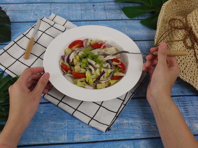 夏日開胃料理-泰式雞肉沙拉