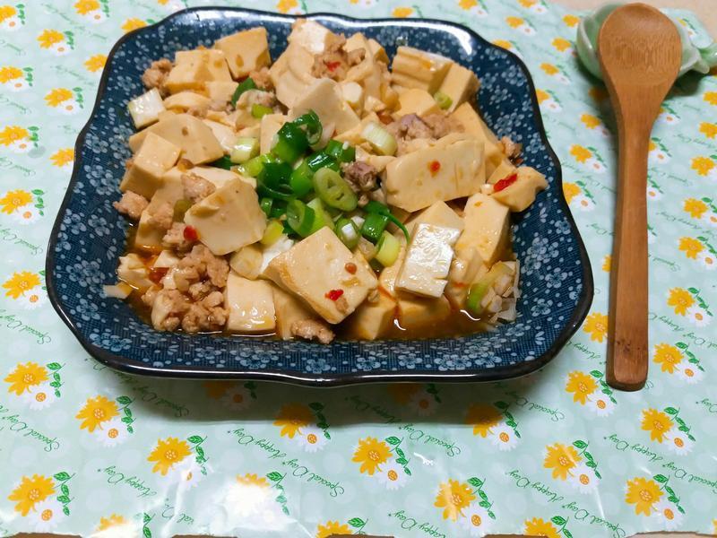 麻婆雞蛋豆腐🍜