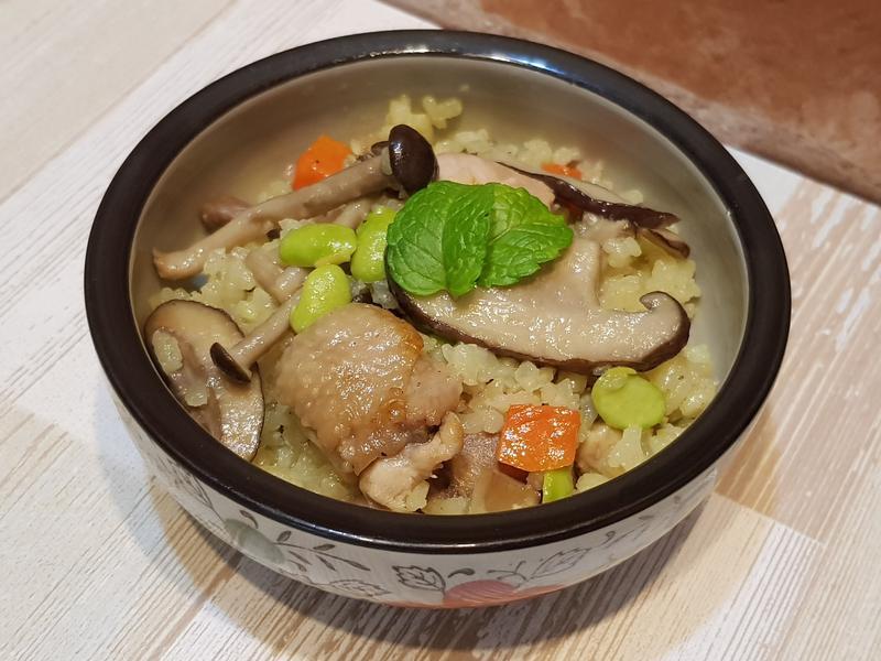 蛤蜊雞肉什錦炊飯