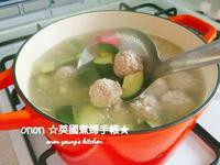 清甜櫛瓜肉丸子湯 簡易夏日湯水👑