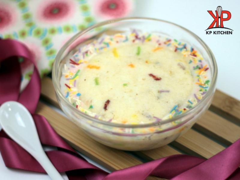 五彩香草微波蛋糕