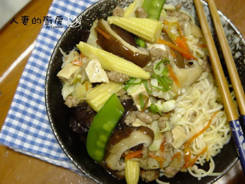 廣式炒麵之剩料處理篇