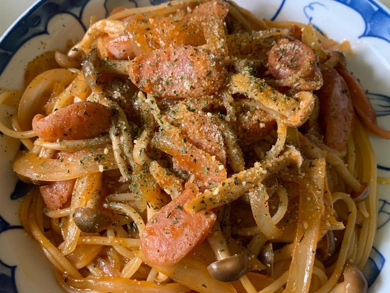 日式拿坡里義大利麵