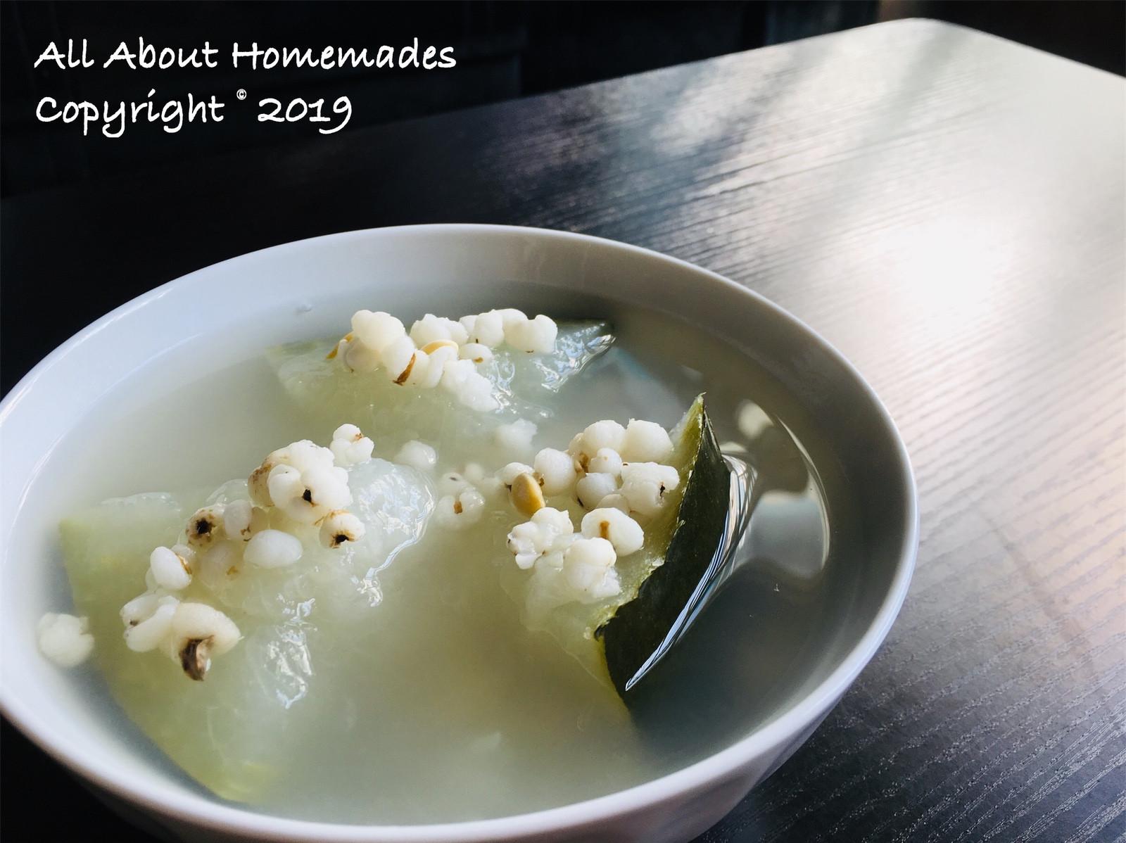 冬瓜薏米湯