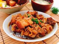 高麗菜乾魯五花(台式下飯料理)