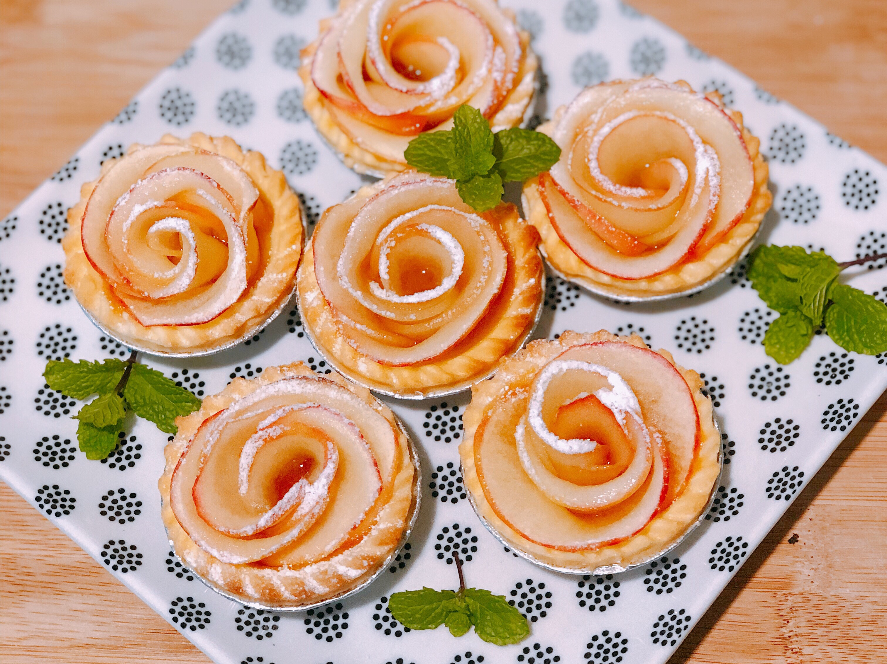 柚子醬蘋果塔