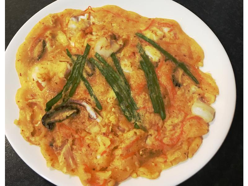 零失敗韓式海鮮泡菜煎餅