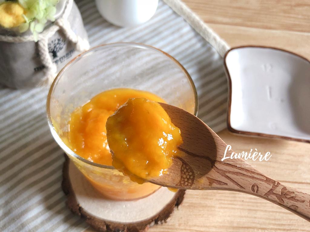 夏日芒果醬【無果膠、低糖配方】