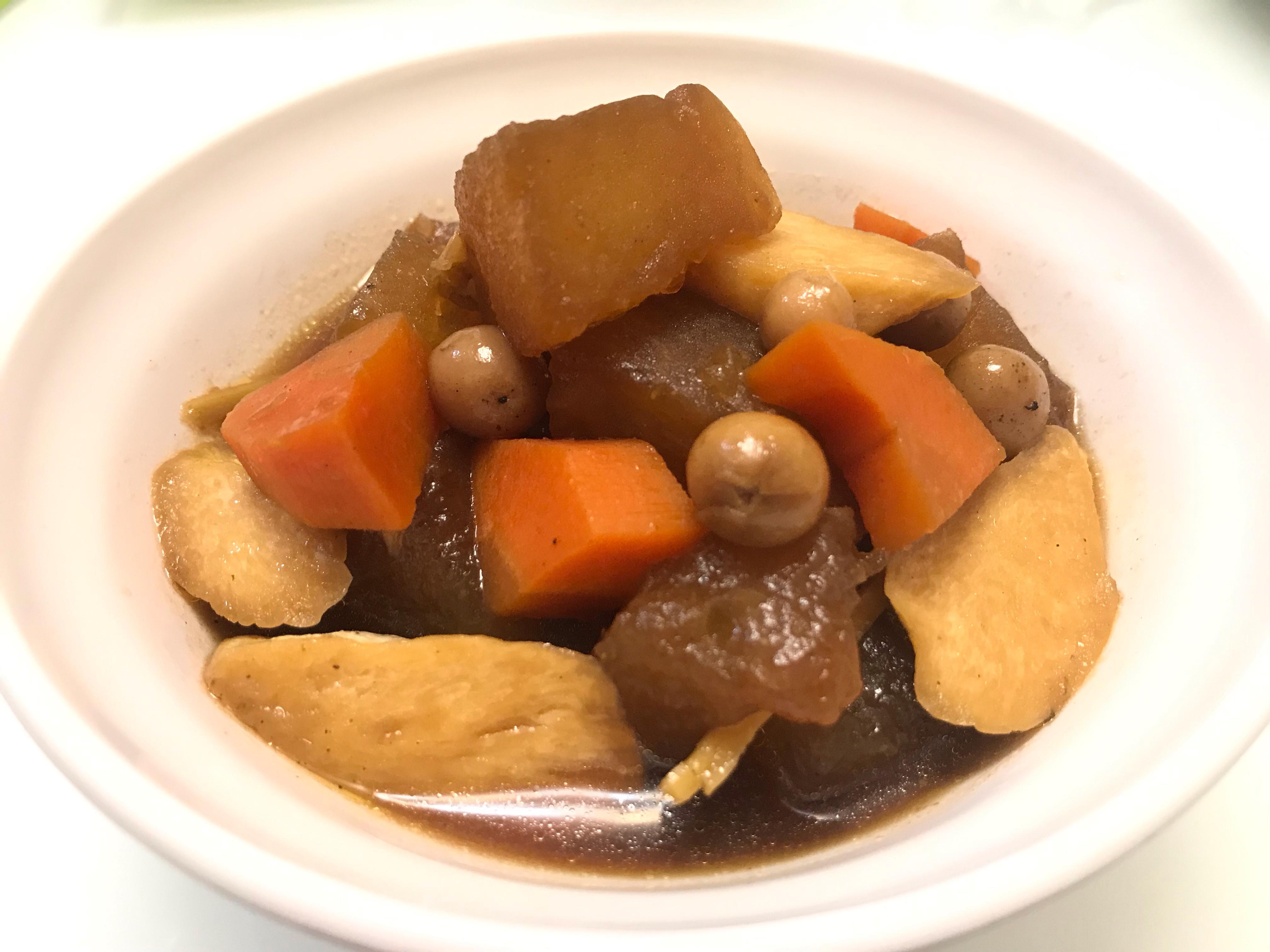 👩🏻🍳滷冬瓜皎白筍-素食可