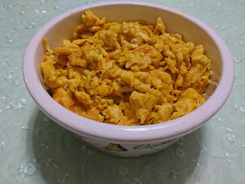 豆包泥煎蛋