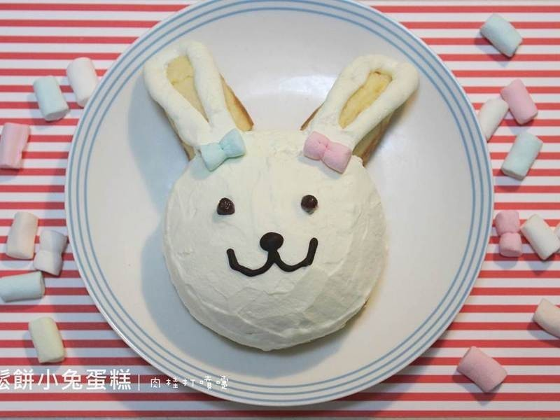 【肉桂打噴嚏】小兔鬆餅甜點
