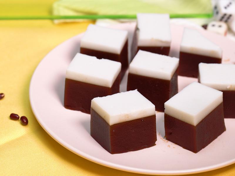 紅豆羊羹&椰奶凍