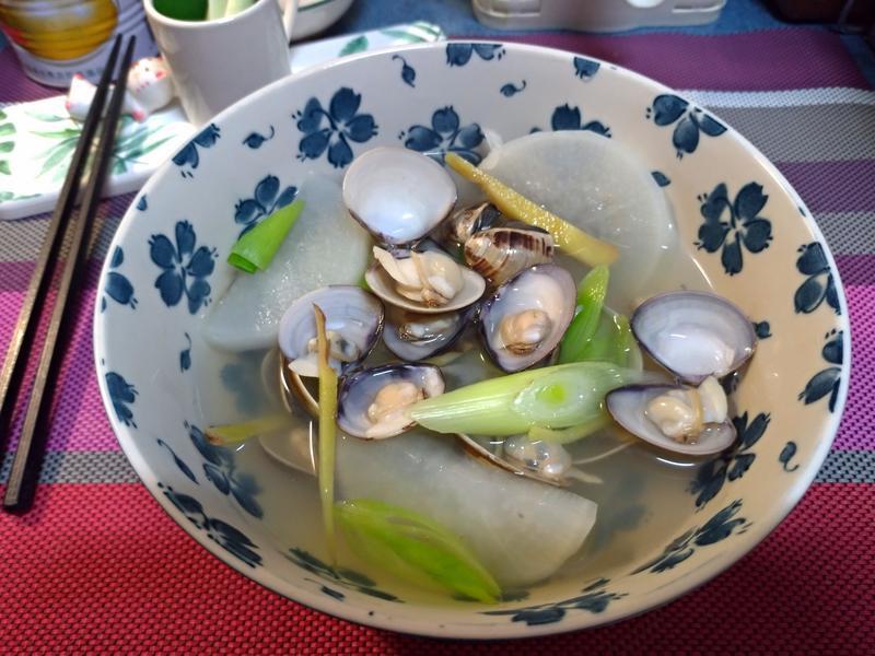 白蘿蔔蛤蜊湯