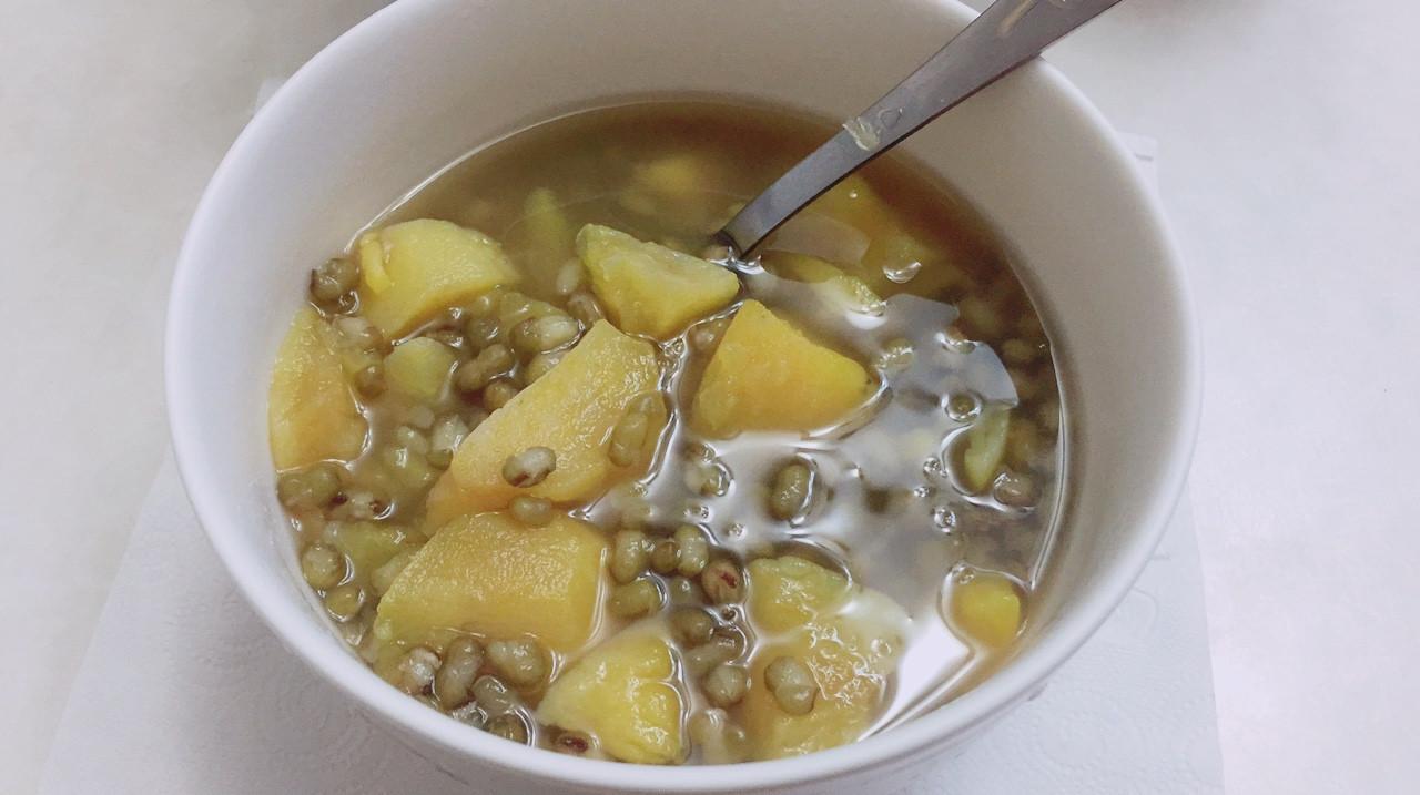 地瓜綠豆湯