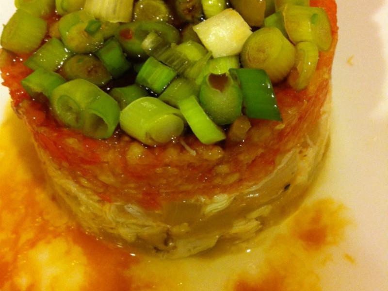 蟹肉黃瓜番茄沙拉塔