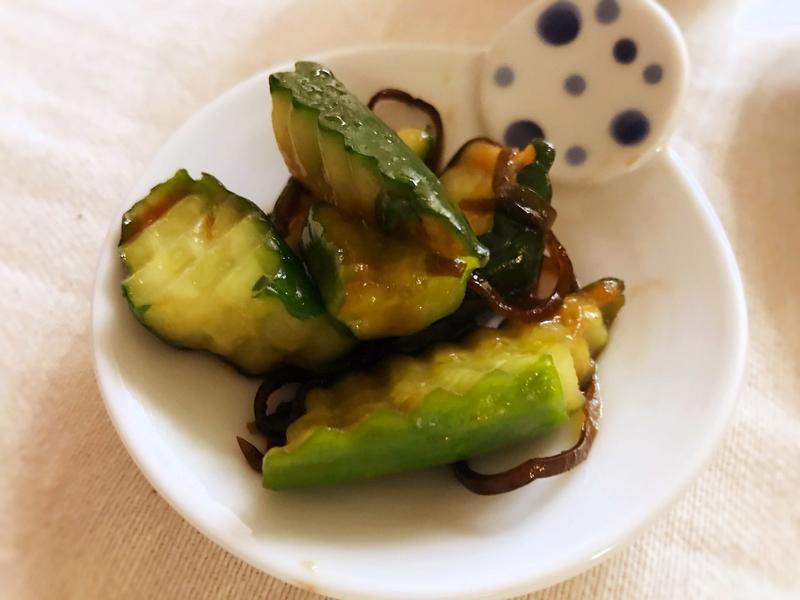 【日式副菜】鹽昆布漬小黃瓜