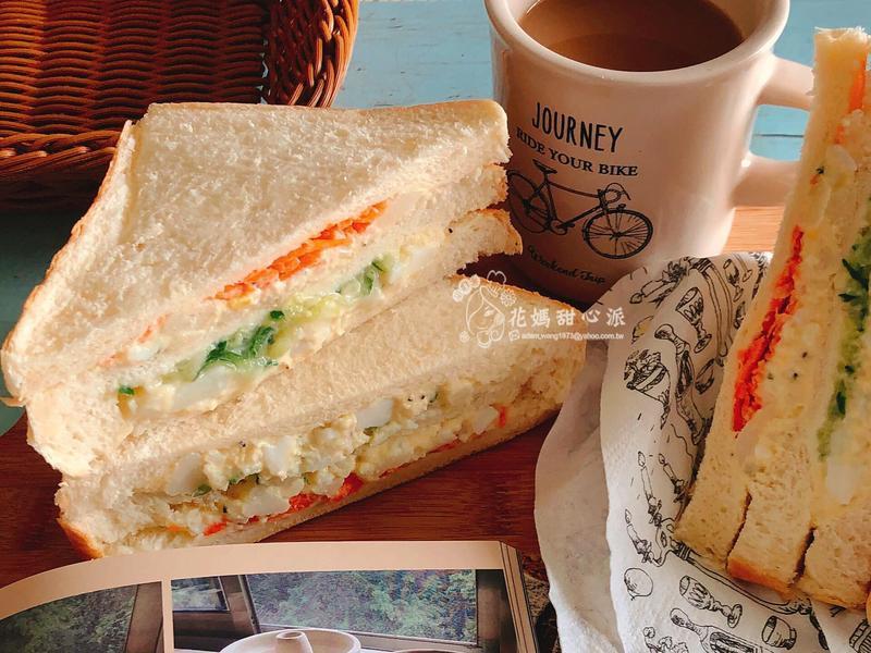 馬鈴薯泥鮮蔬三明治(健康飲食)
