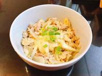 起司鮪魚蛋蓋飯(10分鐘料理)