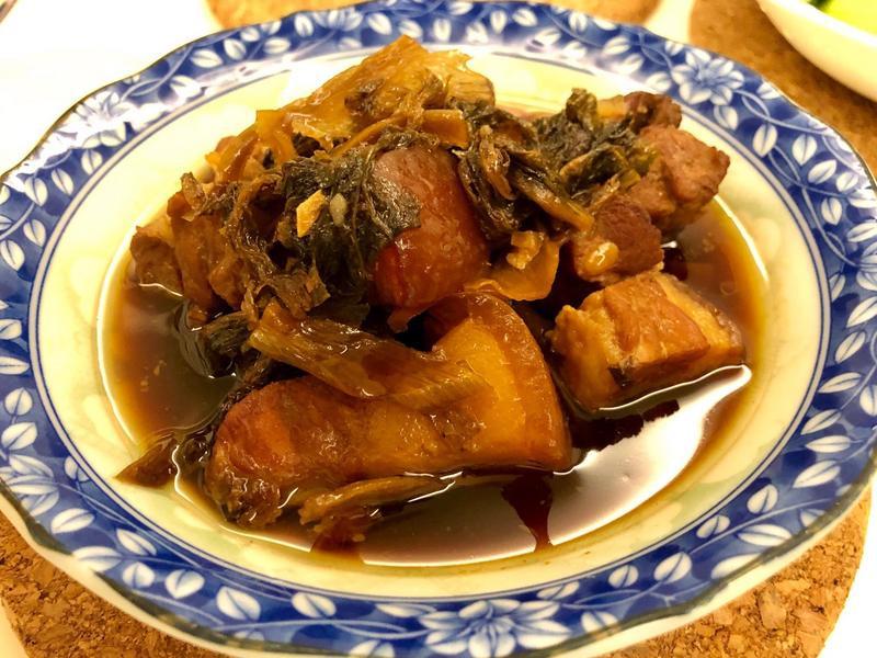 梅干扣肉(簡化版)