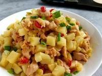 腐乳嫩雞肉炒馬鈴薯
