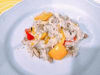 奶香野菇燉飯