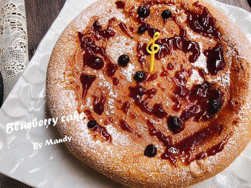 藍莓蛋糕🍰【電子鍋】