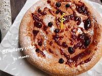 藍梅蛋糕🍰【電子鍋】