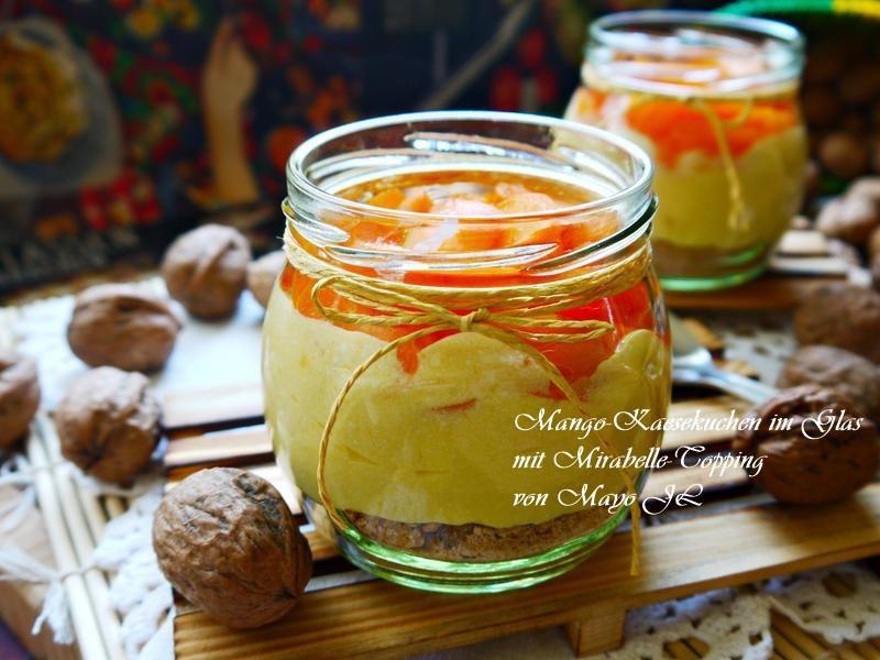 芒果起司蛋糕甜點杯