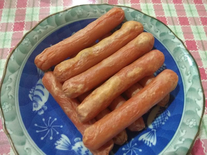 [氣炸料理]-氣炸熱狗