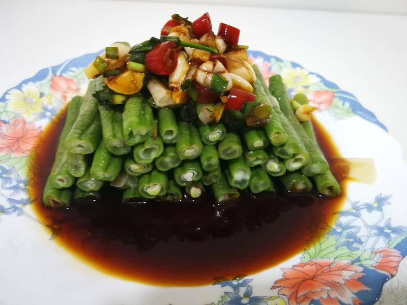 健康養生水煮菜豆