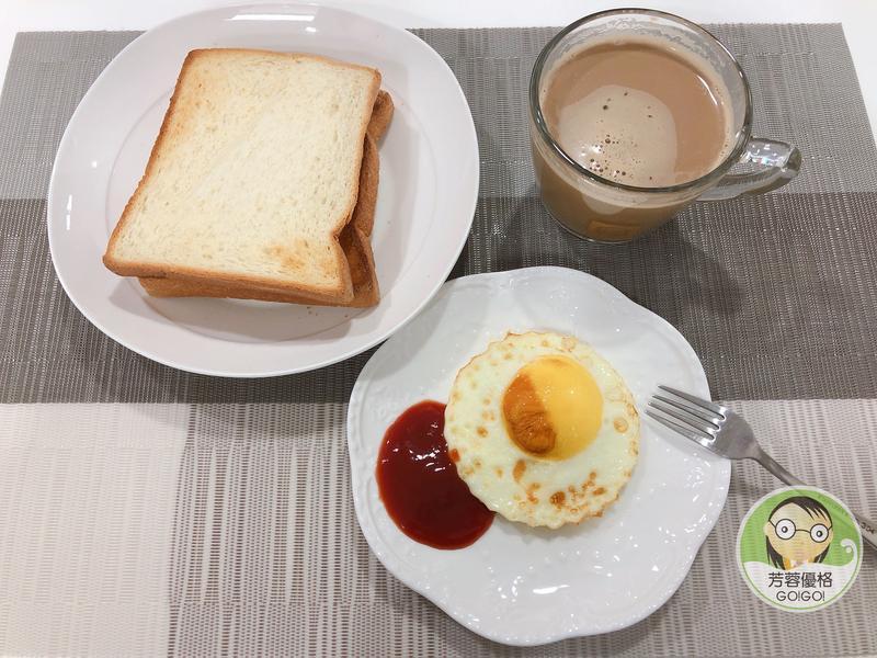 氣炸吐司與煎蛋~氣炸鍋料理
