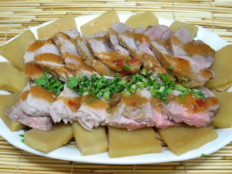 【四季江戶味之秋季料理】滷麻筍豬腱肉