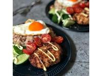 氣炸鍋料理~漢堡肉