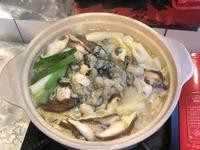 牡蠣味噌豆腐鍋