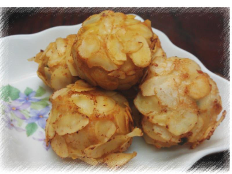 杏片雞肉丸