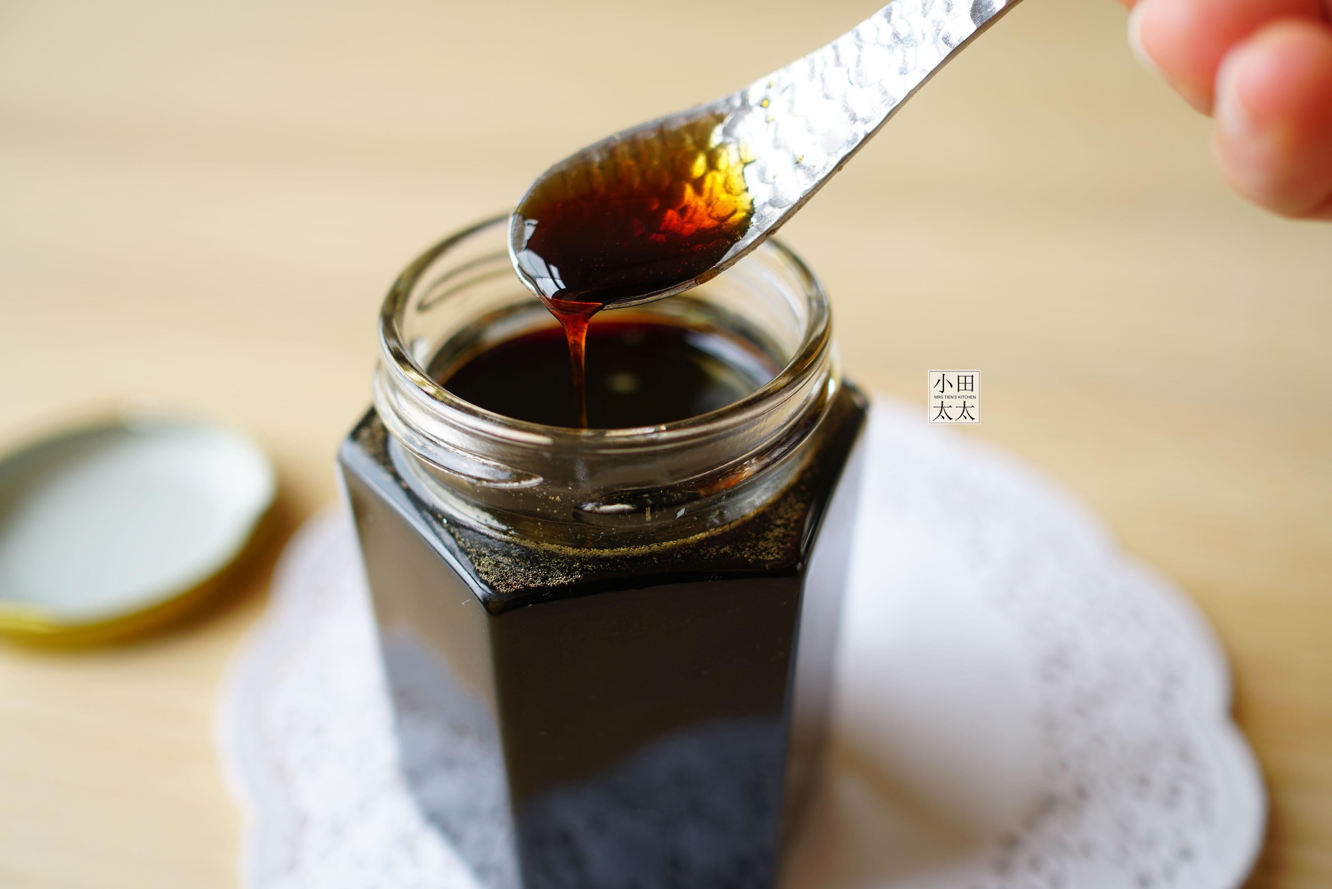 DIY黑糖蜜電鍋版+黑糖紋鮮奶(影片)